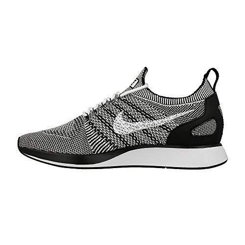 Nike air zoom mariah flyknit racer scarpe uomo da corsa 918624 scarpe da tennis - bianco nero 102, 45