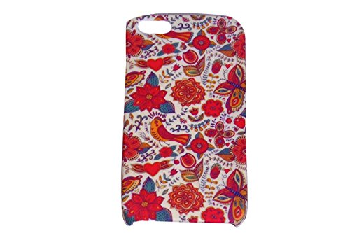 Floral Fashion Designer Print Snap-On Hard Slim Back Flexible Bumper Case Cover For Apple IPhone 5 / 5s  available at amazon for Rs.99