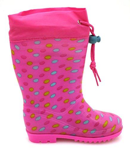 Disney-bottes en caoutchouc pour fille - Neon-Pink