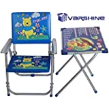 Varshine Boom Table Chair Set for Growing Kids    Study Table    2 to 6 Years Old Kids    F-23