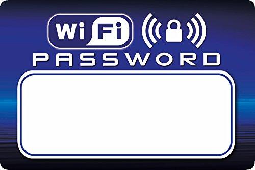 Wifi Contraseña Imán Frigorífico borrado seco