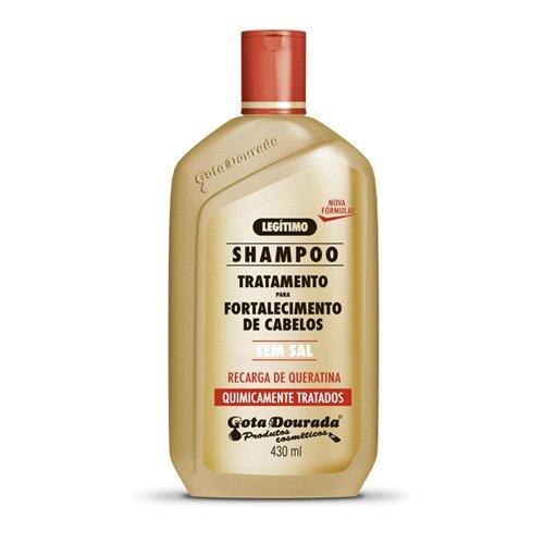 Drop Dourada Recharge Keratin Shampoo without Salt–430ml