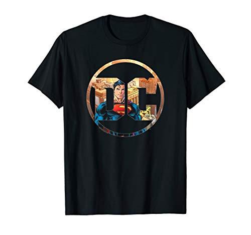 Superman DC Comics Logo T Shirt