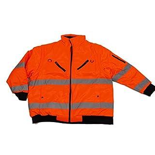 Abraxas Occupational Safety Jacket EN471in Plus Size, Orange