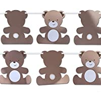 Hatton Gate Teddy Bear Shaped Bunting 1 per pack 3.5 metres