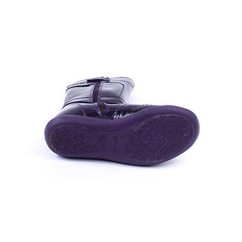 Bottes Fille Violet 131631C - Garvalin Violet