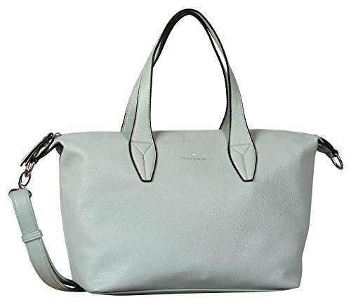 TOM TAILOR Acc Damen Delia Bowling Tasche, Blau (Light Blue),