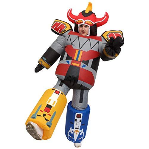 Morph Erwachsene Riesen Aufblasbares Megazord Power Rangers Kostüm