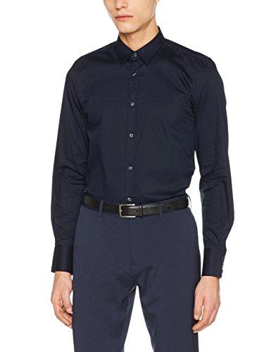 Antony morato mmsl00375-fa450001, camicia casual uomo, (blu intenso), xxx-large (taglia produttore:56)