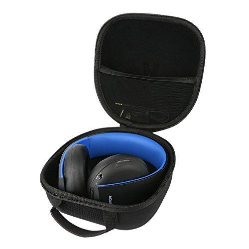 Teckone Portatile Custodia da viaggio Memorizzazione per Sony PS4/PS3/PS Vita Cuffie wireless stereo microfono cuffia /PlayStation Controller Dualshock Wireless. Mesh Pocket per altro Accessori