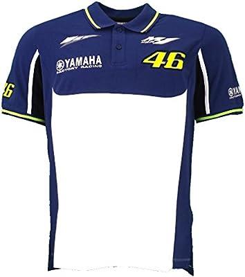 Valentino Rossi VR46 M1 Yamaha Racing Team MotoGP Polo camiseta oficial 2016