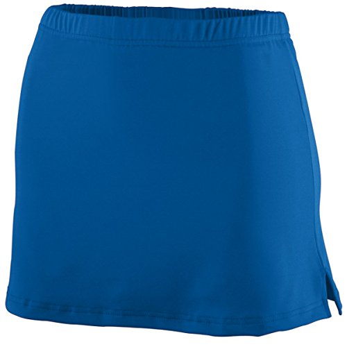 Augusta Sportswear WOMEN'S POLY/SPANDEX TEAM SKORT 2XL Royal