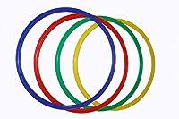 agility sport pour chiens - lot de 4 cerceaux Ø 40 cm, 4 coloris