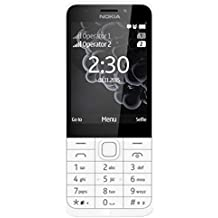 Nokia 230DS Telefono Cellulare, 16 MB, Argento