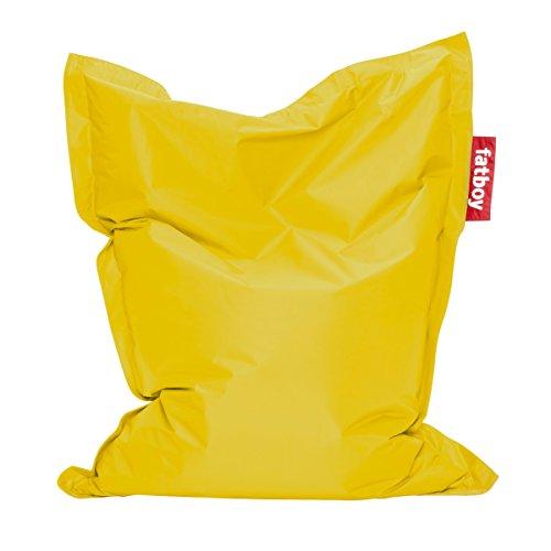 Fatboy 900.0518 Sitzsack, Nylon, gelb, 60 x 60 x 72 cm