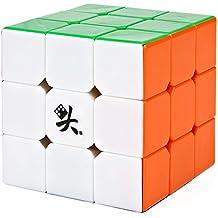Speed Cube 3x3x3 Dayan Generation II ninguna etiqueta engomada Competición Especial 55mm Muy rápido