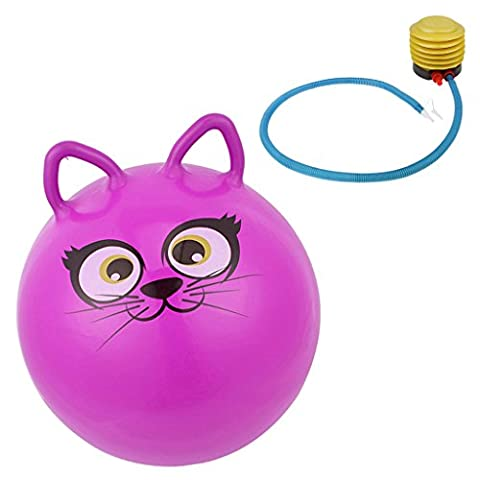 Sharplace 18'' Adorable Cat Design PVC Jumpping Bounce Hop Ball