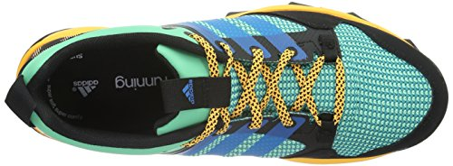 adidas Kanadia 7 Tr W, Scarpe da Corsa Donna, Rosa Verde/blu/giallo (Briver/Azusol/Dorsol)