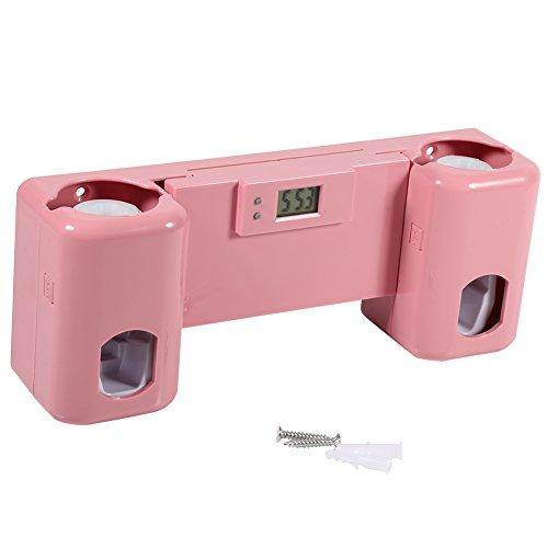 Distribuidor automático de pasta de dientes con soporte de cepillo de  dientes de pared Soporte con 49a8c7e176a2