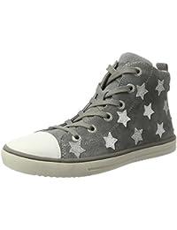 BOOWJESSEA - Zapatillas de Otra Piel para niña, color dorado, talla 38 EU