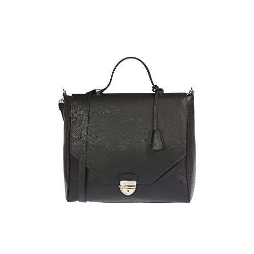 Trussardi Woman Handbag in Genuine Dollar Leather 100% Calf - 32x30x14 cm