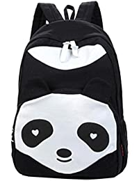 EOZY Sac � Dos Sac Port� Epaule Sac Scolaire Canevas Style Mignon Panda Unicolore