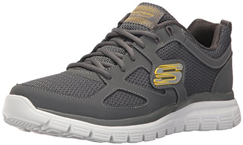 Skechers Baskets Burns Agoura pour homme Anthracite