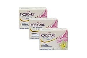 Kozicare Skin Whitening Soap, 75g (Pack of 3)