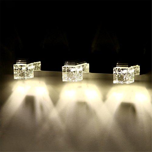 Un espejo luz/luces delanteras/crystal lámpara pared/LED