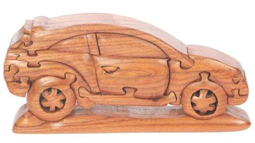 Auto 3D Puzzle di legno: il divertimento di Natale della novità e regalo di compleanno: Rompicapo Idea regalo: Jigsaw: Ornamento: Regali per bambini, uomini, Adulti: Dimensioni 21 x 10 x