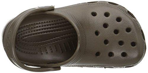 Crocs Classic Kids 1006, Sabot Unisex – Bambini Marrone (Chocolate)