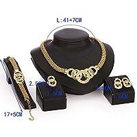 Circular Pattern Jewellery Set