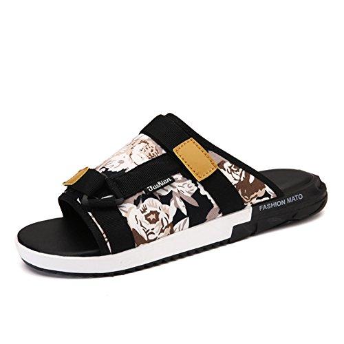 Tongs de mode été/Pantoufles de marée anti-dérapant plage/Sports de loisir de chaussures A