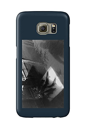 Bonneville Dam, Oregon - Counting Salmon at Fish Ladder (Galaxy S6 Cell Phone Case, Slim Barely There) -
