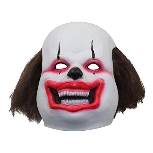 aske Halloween lustige Maske Kostümfest Prop beängstigend Kopf Abdeckung Terror Maske Kopfstück Cosplay Monster Prom Party gefallen ()