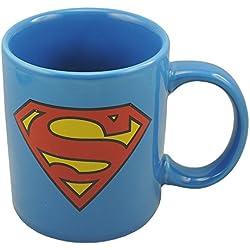 Joy Toy 2080696 Taza de cerámica, diseño de Superman, color azul