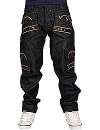 Peviani - Jeans - Homme noir noir