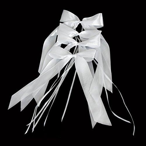 floristikvergleich.de 10 Antennenschleifen in Weiß