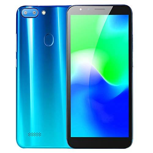 Telefono Cellulare, 5.5''Ultrathin Android5.1 Octa-Core 512MB 4G 3G / GSM WiFi Dual SIM sbloccato SmartPhone (Blu)