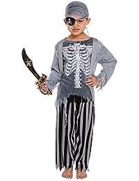 FANCY DRESS CHILD ZOMBIE PIRATE LARGE 10-12 YRS