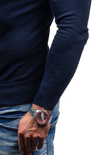BOLF - Pull - Tricot – NEW MEN 9020 - Homme Bleu foncé