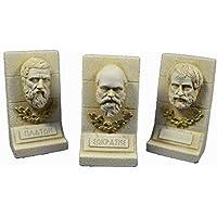 Sócrates plato Aristóteles Escultura Set filósofos de ...