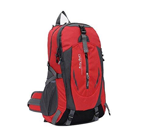 SZH&BEIB Wanderrucksack 35L wasserdichte Freizeit für Outdoor-Reisen Camping Bergsteigen Tasche D