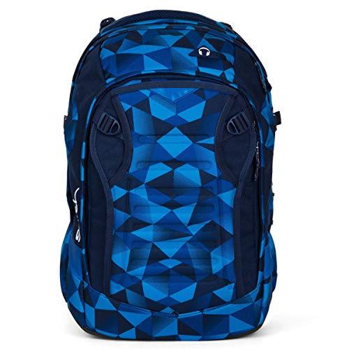 satch Match Facelift ergonomischer Schulrucksack für Teenager - Blue Crush