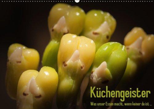Küchengeister - Was unser Essen macht, wenn keiner da ist (Wandkalender 2015 DIN A2 quer): Ungewöhnliche Foodmotive aus dem Küchenalltag (Monatskalender, 14 Seiten)