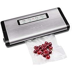 Crenova VS100S Machine Sous Vide Aliments avec un Kit de Démarrage 10 Pcs Sous Vide Sac