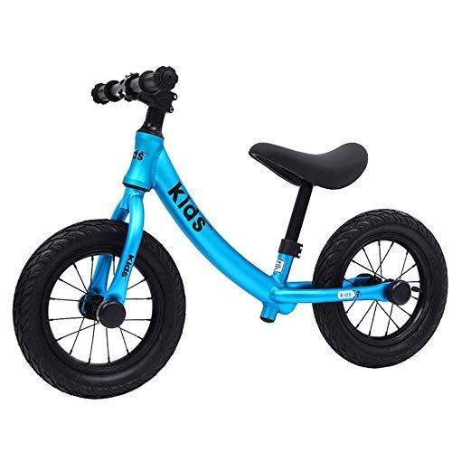 BABYZIXCH Balance Fahrrad FüR 2-6Jahre Alter Junge Und MäDchen,Laufrad Mit Verstellbarem Sitz,Kein Pedal,Geeignet FüR HöHe 80-120Cm