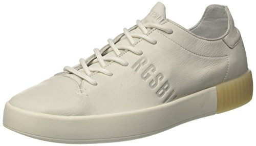Bikkembergs Cosmos 2100 Sneaker Uomo, Bianco 45 EU