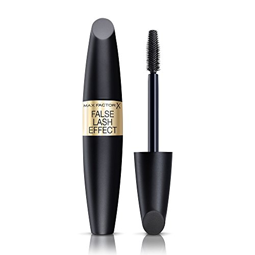 Max Factor False Lash Effect Mascara Schwarz - Wimperntusche für maximale Länge & volle Wimpern - Definition bis in die Spitzen - 1 x 13 ml - Effekt Mascara