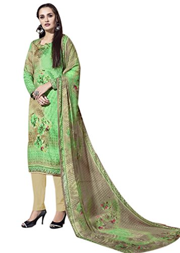 Rosaniya Fine Quality Cotton Un stitched Self Digital Printed salwar suit for...